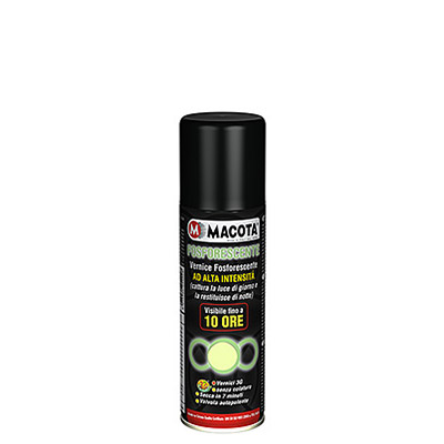 Pintura Fosforescente en spray, 200 ml