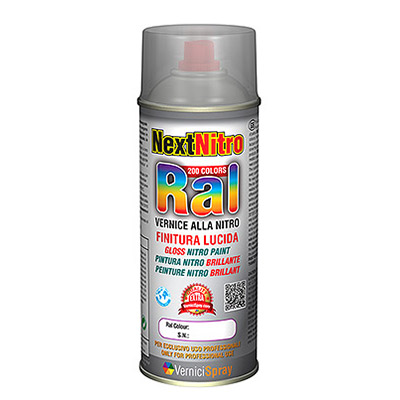 Pintura Nitro Spray en Colores RAL brillantes