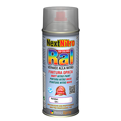 Pintura Nitro spray en colores RAL mates