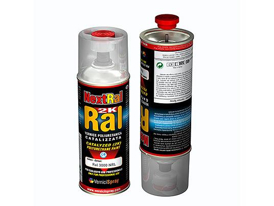 Pintura de poliuretano bicomponente en aerosol en colores - Poliuretano en spray ...
