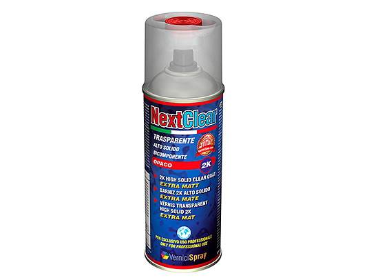 Barniz bicomponente mate en aerosol especial 400 ml para - Pintura en spray para plastico ...