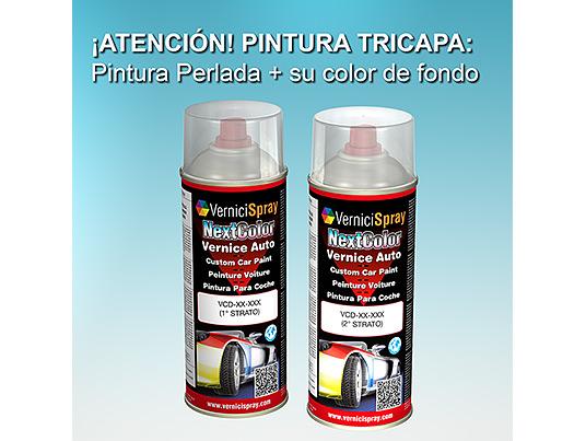 pintura coche spray citroen c4 picasso ekq rojo lucifer nacre met acekq2013es. Black Bedroom Furniture Sets. Home Design Ideas